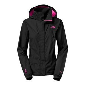 THE NORTH FACE rain jacket limited pink ribbon